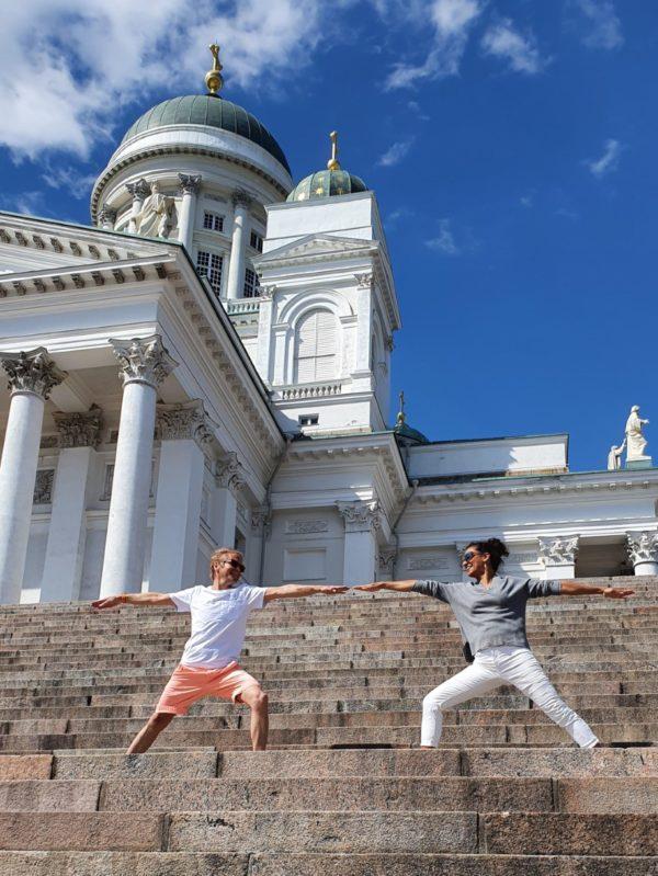Yoga tour Helsinki